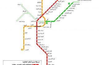 مترو الأنفاق في القاهرة: نموذج للإهدار ولخدمة جماعات المصالح